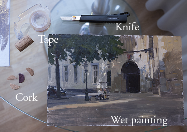 Using Panel Board For Oil Paintings